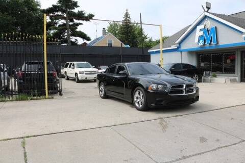 2013 Dodge Charger for sale at F & M AUTO SALES in Detroit MI