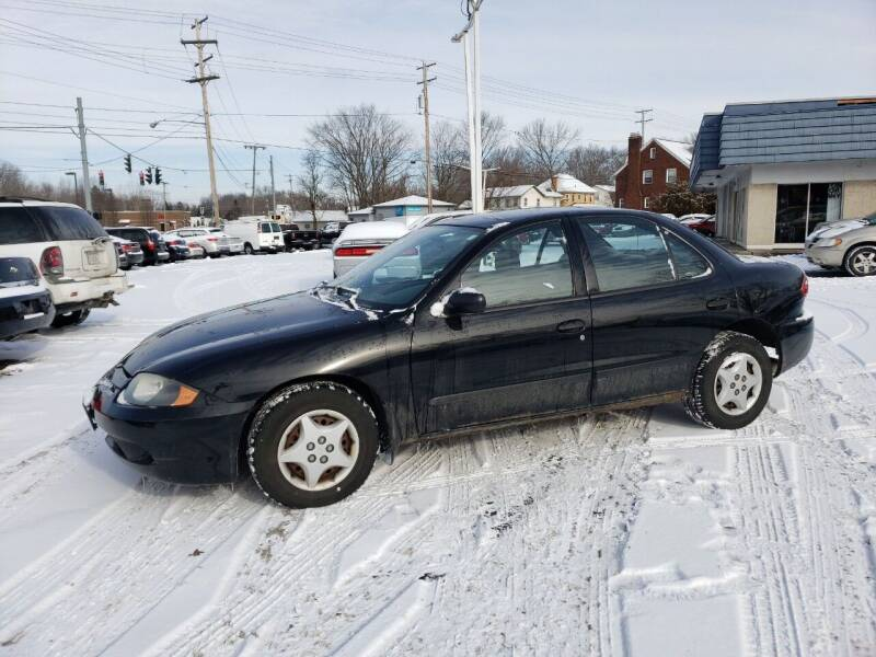 2004 Chevrolet Cavalier for sale at COLONIAL AUTO SALES in North Lima OH