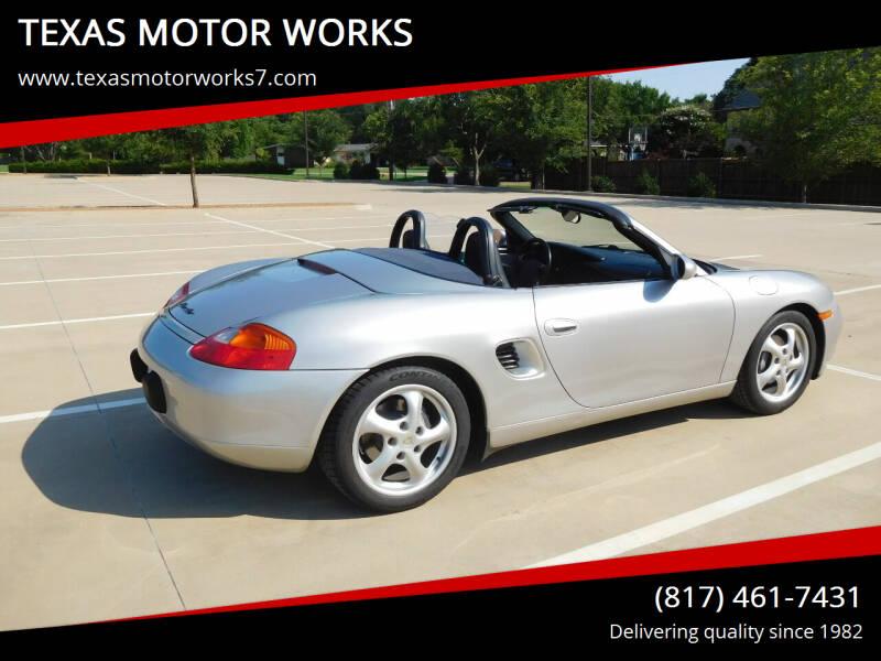 2000 Porsche Boxster for sale in Arlington, TX