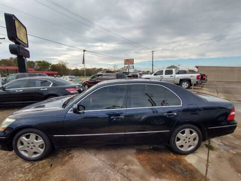2004 Lexus LS 430 for sale at BIG 7 USED CARS INC in League City TX