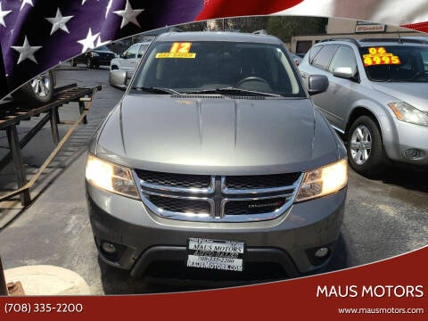 2012 Dodge Journey for sale at MAUS MOTORS in Hazel Crest IL