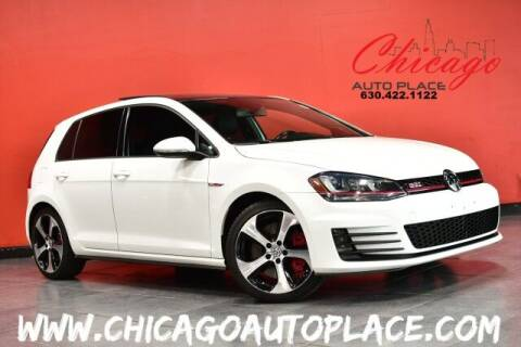 2016 Volkswagen Golf GTI for sale at Chicago Auto Place in Bensenville IL
