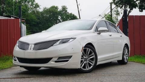 2013 Lincoln MKZ for sale at Hidalgo Motors Co in Houston TX