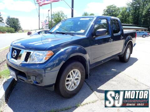 2019 Nissan Frontier for sale at S & J Motor Co Inc. in Merrimack NH