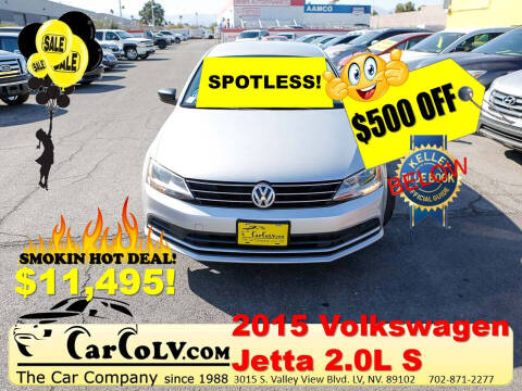 2015 Volkswagen Jetta for sale at The Car Company in Las Vegas NV