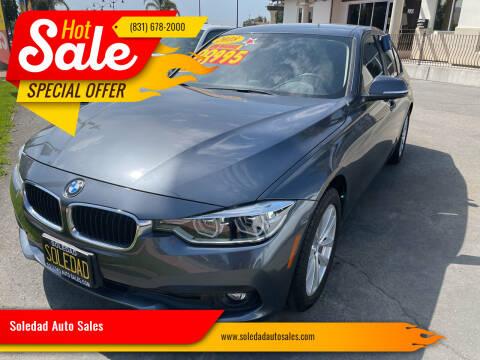 2018 BMW 3 Series for sale at Soledad Auto Sales in Soledad CA