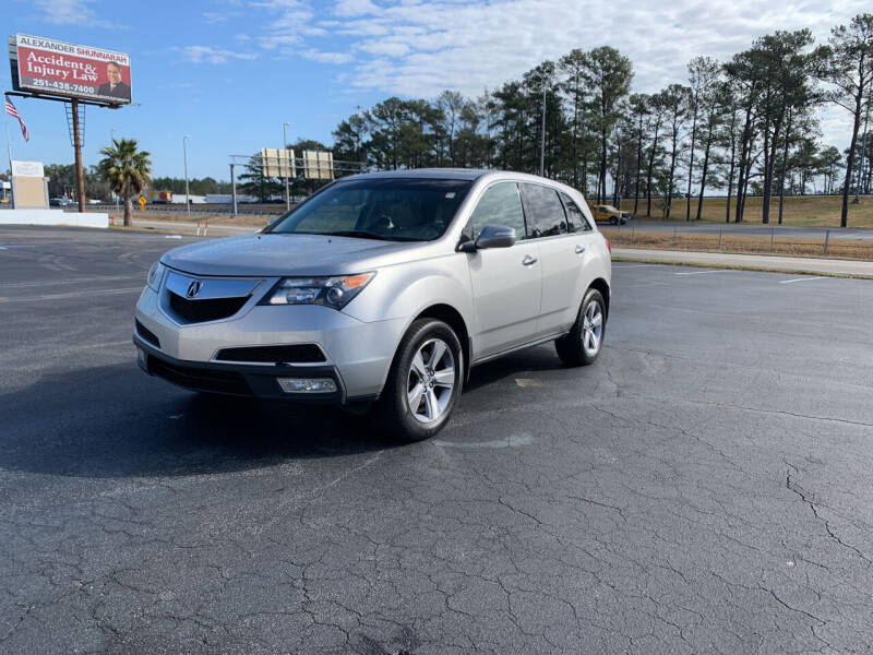 2013 Acura MDX for sale at SELECT AUTO SALES in Mobile AL