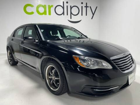 2013 Chrysler 200 for sale at Cardipity in Dallas TX