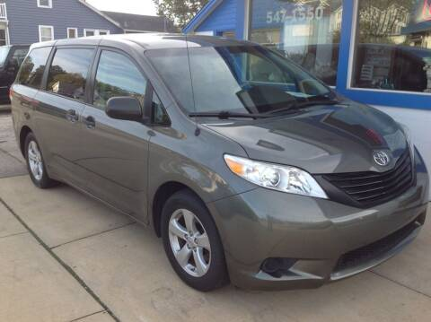 2012 Toyota Sienna for sale at Sindic Motors in Waukesha WI