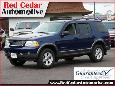 2004 Ford Explorer for sale at Red Cedar Automotive in Menomonie WI