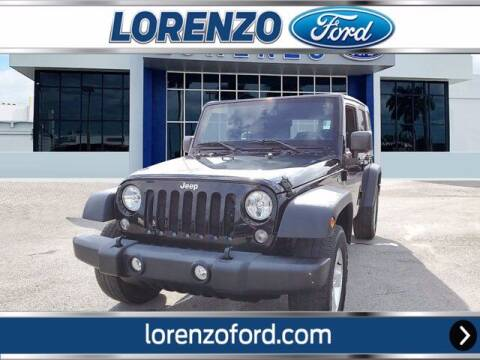 2017 Jeep Wrangler Unlimited for sale at Lorenzo Ford in Homestead FL