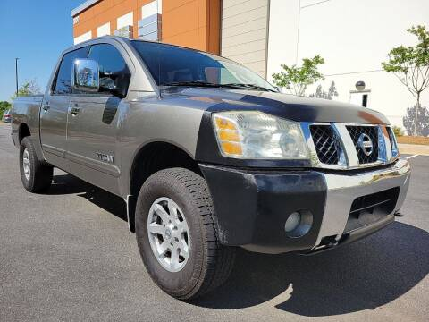 2006 Nissan Titan for sale at ELAN AUTOMOTIVE GROUP in Buford GA