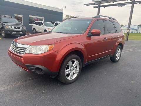 2010 Subaru Forester for sale at Eagle Auto LLC in Green Bay WI