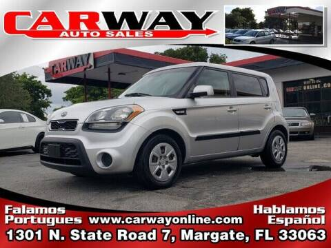 2012 Kia Soul for sale at CARWAY Auto Sales in Margate FL