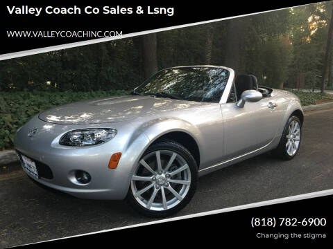 2008 Mazda MX-5 Miata for sale at Valley Coach Co Sales & Lsng in Van Nuys CA