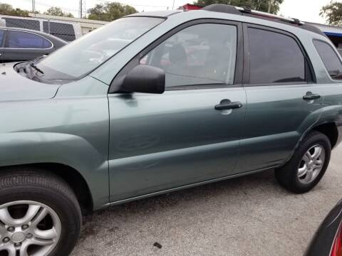 2007 Kia Sportage for sale at Fantasy Motors Inc. in Orlando FL