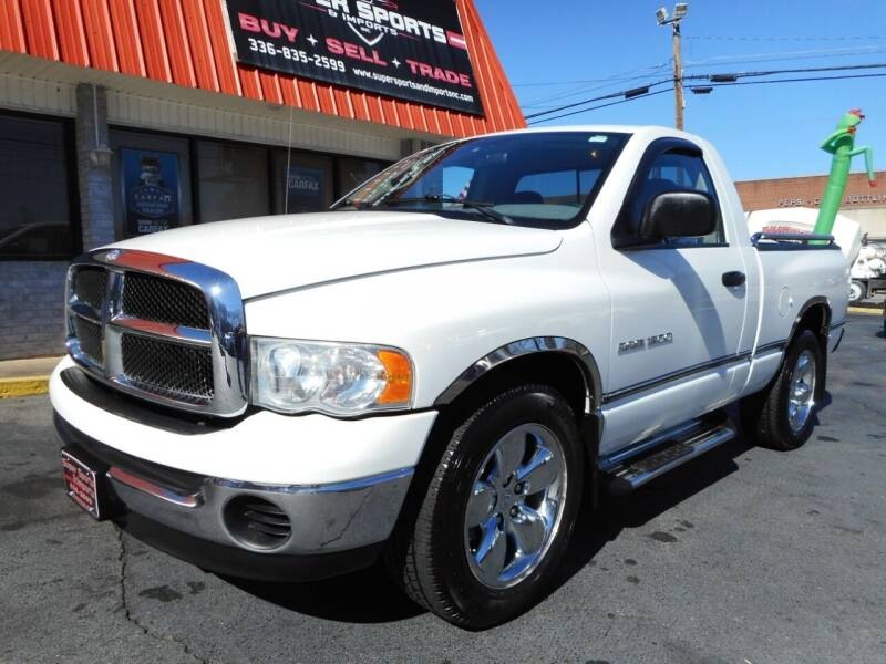 2004 Dodge Ram Pickup 1500 for sale at Super Sports & Imports in Jonesville NC
