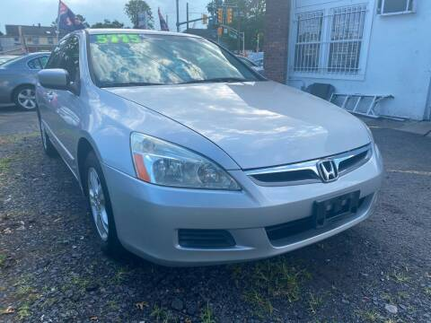 2007 Honda Accord for sale at GRAND USED CARS  INC in Little Ferry NJ