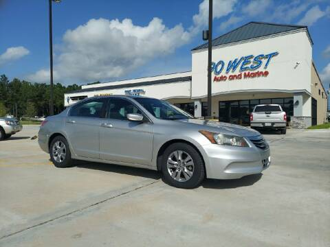 2012 Honda Accord for sale at 90 West Auto & Marine Inc in Mobile AL