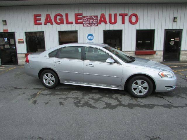 2009 Chevrolet Impala for sale at Eagle Auto Center in Seneca Falls NY