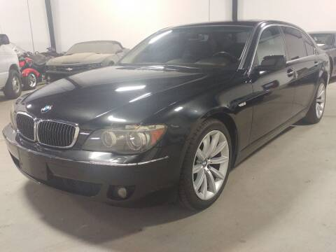 2007 BMW 7 Series for sale at MULTI GROUP AUTOMOTIVE in Doraville GA