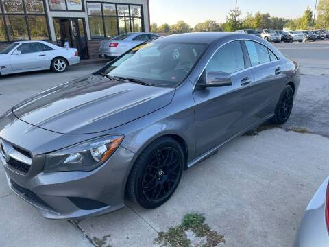 2014 Mercedes-Benz CLA for sale at Azteca Auto Sales LLC in Des Moines IA