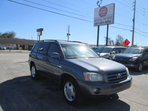 2007 Toyota Highlander for sale at Motor Point Auto Sales in Orlando FL