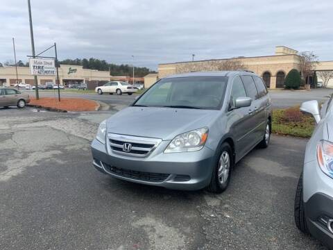 2007 Honda Odyssey for sale at Main Street Auto LLC in King NC