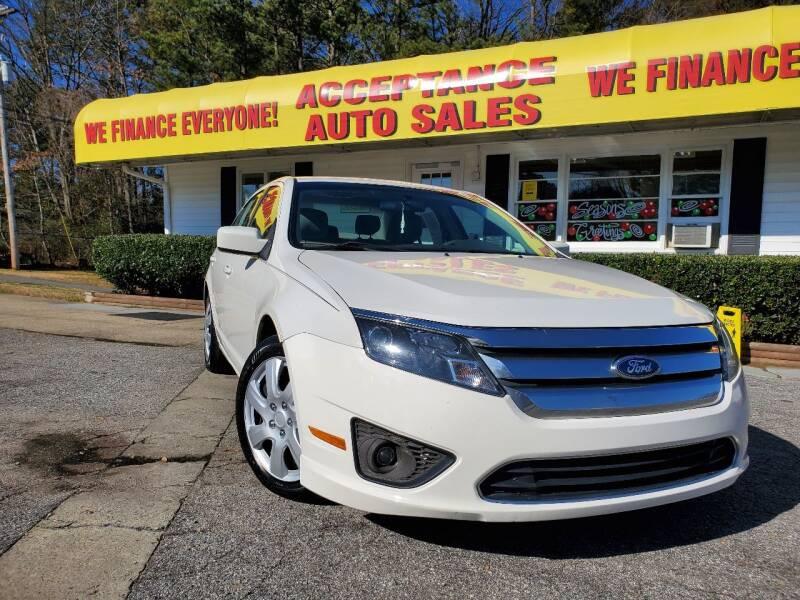 2011 Ford Fusion for sale at Acceptance Auto Sales in Marietta GA