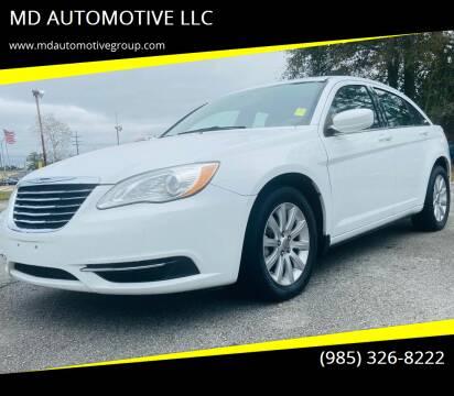 2013 Chrysler 200 for sale at MD AUTOMOTIVE LLC in Slidell LA