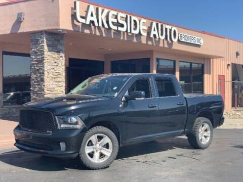2013 RAM Ram Pickup 1500 for sale at Lakeside Auto Brokers Inc. in Colorado Springs CO