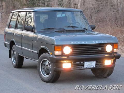 1989 Land Rover Range Rover for sale at Isuzu Classic in Cream Ridge NJ