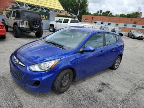 2013 Hyundai Accent for sale at Castle Used Cars in Jacksonville FL