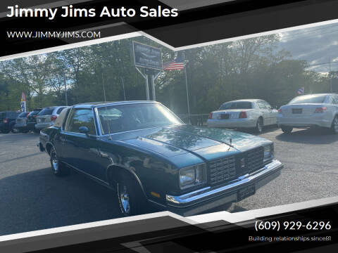 1979 Oldsmobile Cutlass Calais for sale at Jimmy Jims Auto Sales in Tabernacle NJ