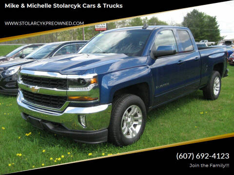 2016 Chevrolet Silverado 1500 for sale at Mike and Michelle Stolarcyk Cars and Trucks in Whitney Point NY