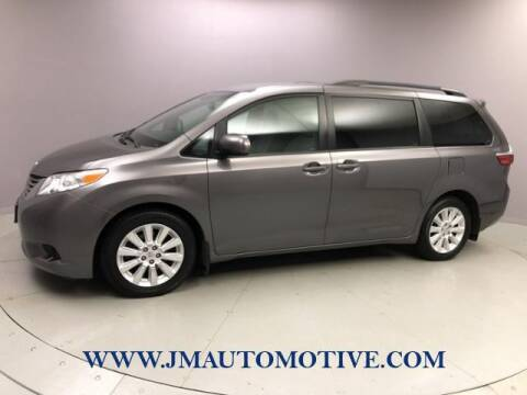 2015 Toyota Sienna for sale at J & M Automotive in Naugatuck CT