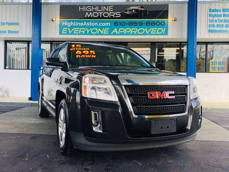 2015 GMC Terrain for sale at Highline Motors in Aston PA