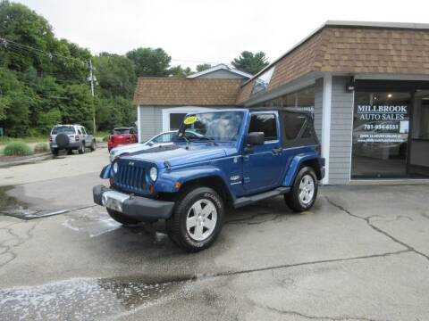 2010 Jeep Wrangler for sale at Millbrook Auto Sales in Duxbury MA