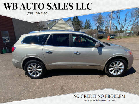 2013 Buick Enclave for sale at WB Auto Sales LLC in Barnum MN