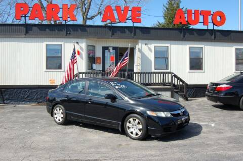2011 Honda Civic for sale at Park Ave Auto Inc. in Worcester MA