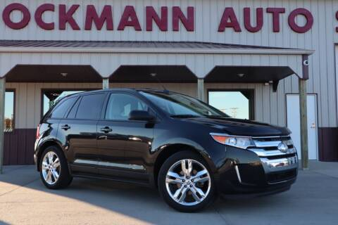2013 Ford Edge for sale at Bockmann Auto Sales in St. Paul NE