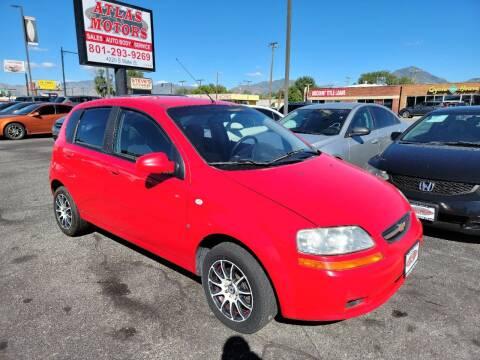 2008 Chevrolet Aveo for sale at ATLAS MOTORS INC in Salt Lake City UT