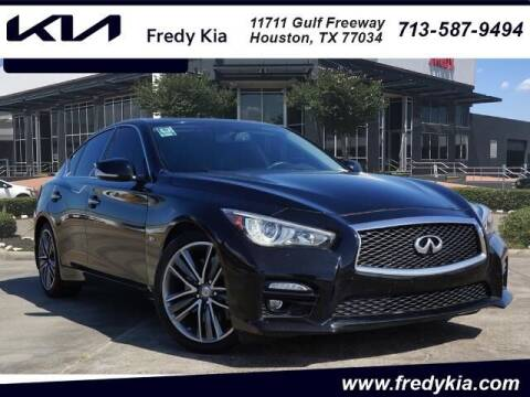 2017 Infiniti Q50 for sale at FREDY KIA USED CARS in Houston TX