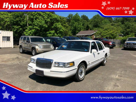 1997 Lincoln Town Car for sale at Hyway Auto Sales in Lumberton NJ