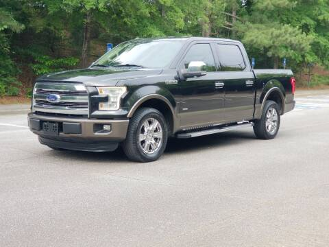 2015 Ford F-150 for sale at United Auto Gallery in Suwanee GA