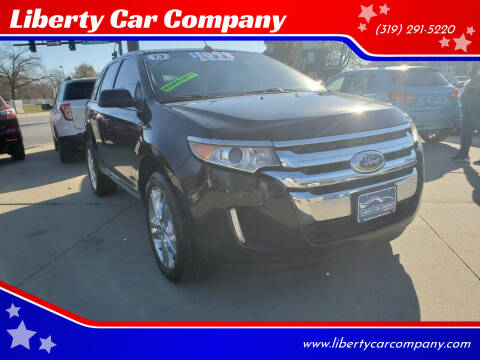 2013 Ford Edge for sale at Liberty Car Company in Waterloo IA