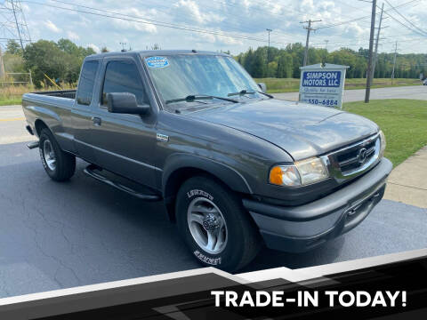 2008 Mazda B-Series Truck for sale at SIMPSON MOTORS in Youngstown OH