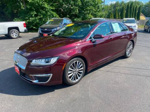 2017 Lincoln MKZ for sale at Glen's Auto Sales in Fremont NH