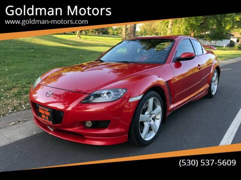2007 Mazda RX-8 for sale at Goldman Motors Corp in Stockton CA