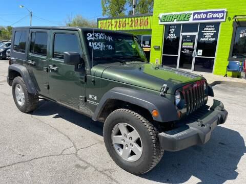 2007 Jeep Wrangler Unlimited for sale at Empire Auto Group in Indianapolis IN